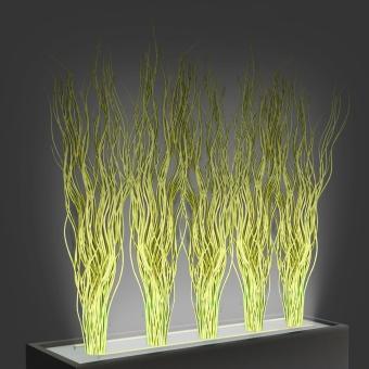 Dekorationspflanzen für Trennelement Flower (5 Stck)