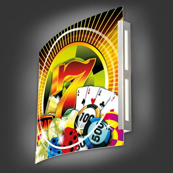 Casinoleuchte - Motiv 002