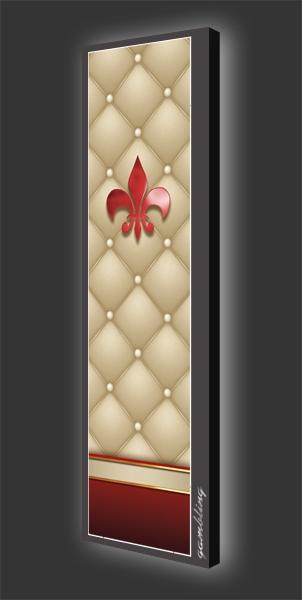Designleuchtbild Hochformat Motiv 584