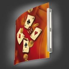 Casinoleuchte - Motiv 114
