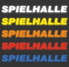 Schriftzug aus Einzelbuchstaben