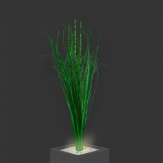Dekorationspflanzen für Trennelement Flower (1 Stck)