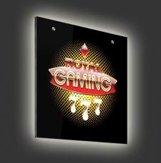 Glasleuchte Magic 60 x 60 cm