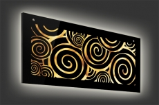 Glasleuchte Magic 110 x 45 cm