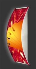 Casino-Wandleuchte Longlight - LED-Leuchte Motiv 001