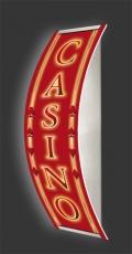 Casino-Wandleuchte Longlight - LED-Leuchte Motiv 012