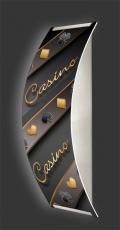 Casino-Wandleuchte Longlight - LED-Leuchte Motiv 026