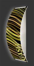 Casino-Wandleuchte Longlight - LED-Leuchte Motiv 040