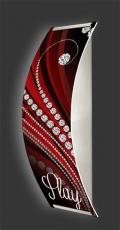 Casino-Wandleuchte Longlight - LED-Leuchte Motiv 044
