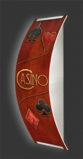 Casino-Wandleuchte Longlight - LED-Leuchte Motiv 061
