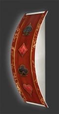 Casino-Wandleuchte Longlight - LED-Leuchte Motiv 064