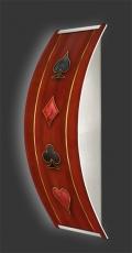 Casino-Wandleuchte Longlight - LED-Leuchte Motiv 065