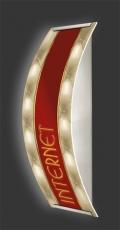 Casino-Wandleuchte Longlight - LED-Leuchte Motiv 067