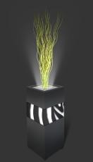 Trennelement Flower schmal