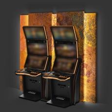 Automatenrückwand (2 Spielgerät)